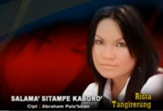 Lirik Lagu Toraja Salama' Sitampe Kaboro' (Rista Tangirerung)