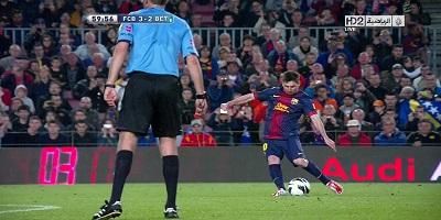 LFP-Week-34 : Barcelona 4 vs 2 Real Betis 05-05-2013