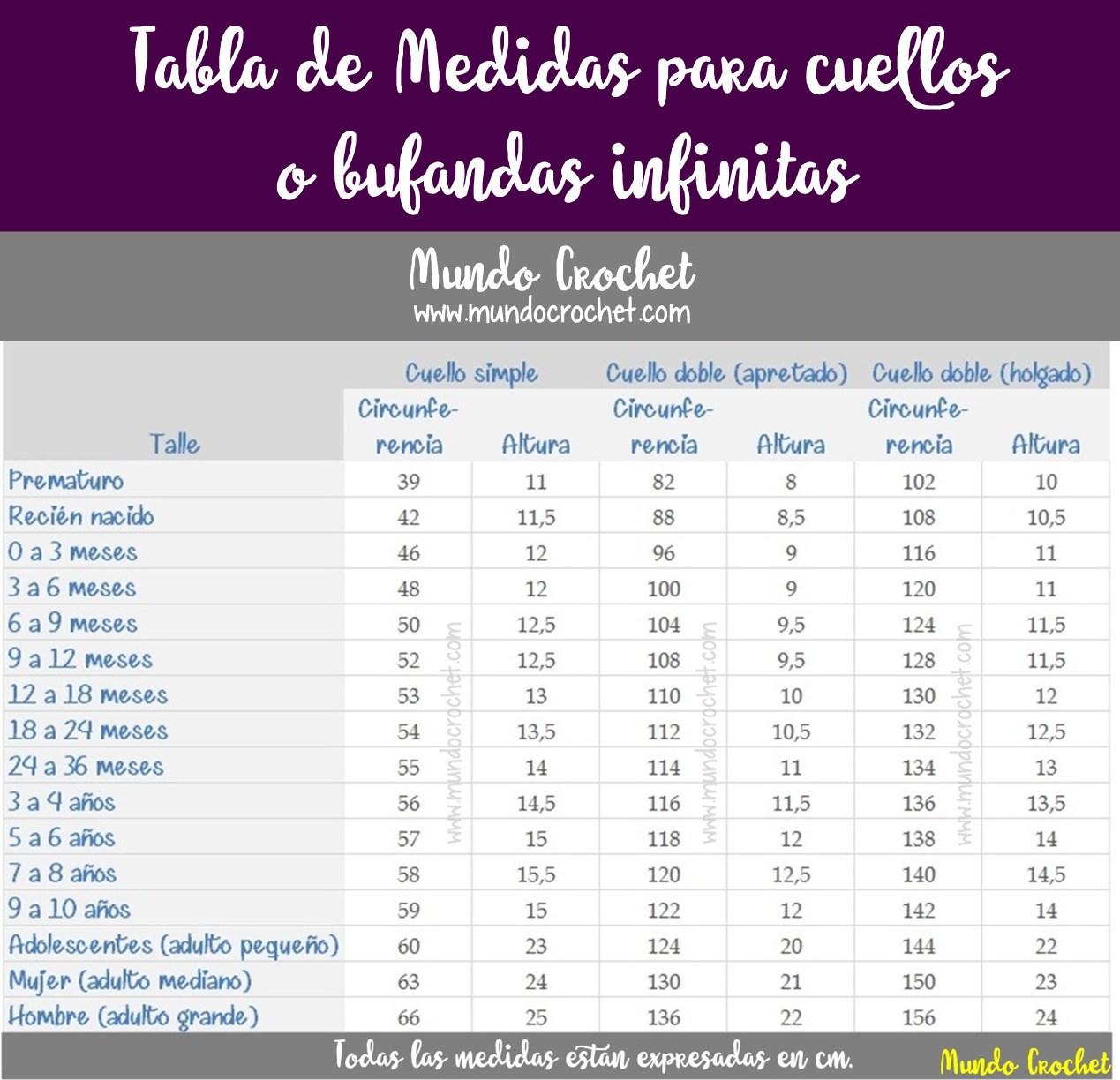 69 Cuellos-Bufandas diferentes puntos-motivos con toque infinito