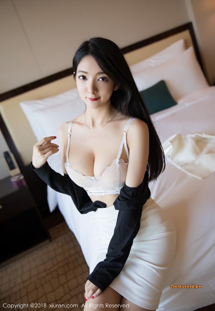 XIUREN No.1209 Xiao Reba Angela MrCong.com 040 wm - XIUREN No.1209: Người mẫu Xiao Reba (Angela小热巴) (52 ảnh)