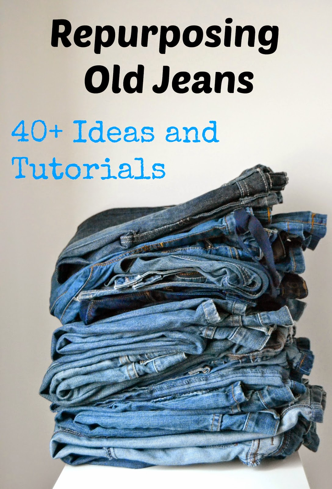 Repurposing Old Jeans 40 Ideas And Tutorials Serger Pepper