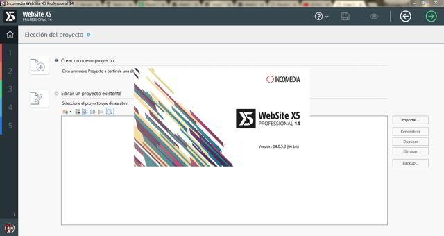 WebSite X5 Professional Versión 14.0.5.3 Español Final