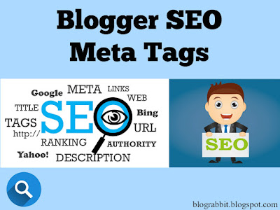 Blogger SEO Meta Tags