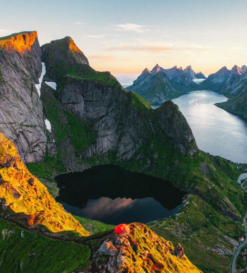 32 Stunning Places on Earth You Should Visit Before You Die - The Lofoten Islands, Norway