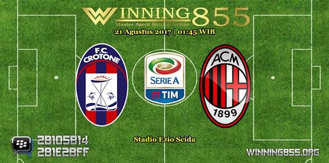 Prediksi Skor Crotone vs Milan