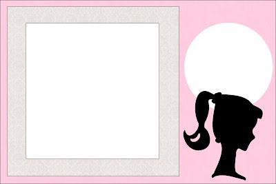 Invitaciones Para Imprimir Gratis De Barbie Silueta Ideas