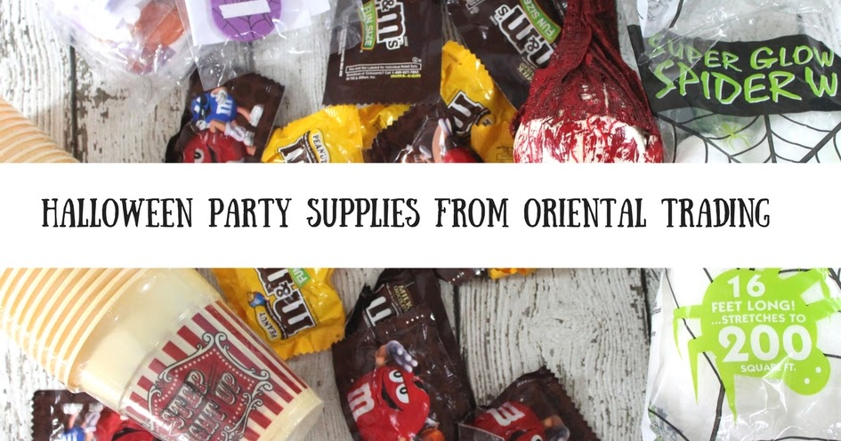 Halloween parties with oriental trading mommy katie for K decorations trading