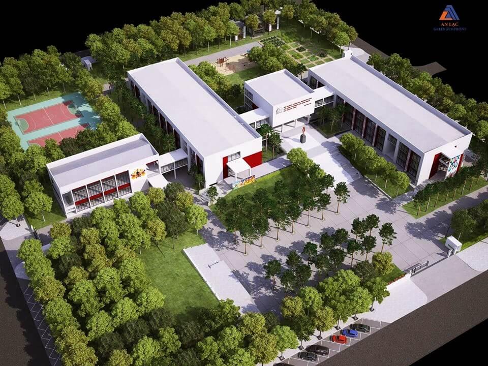Trường học liên cấp khu đô thị An Lạc Green Symphony