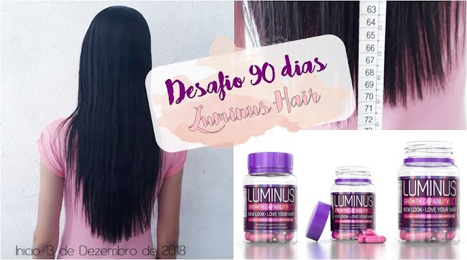 Desafio 90 dias Luminus Hair