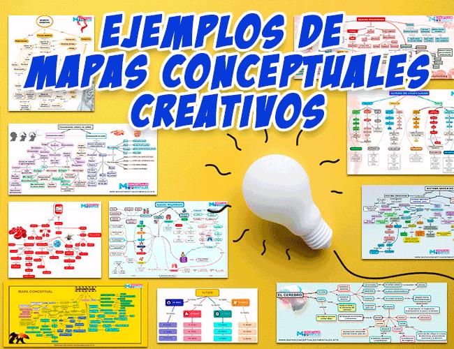 Ejemplos de Mapas Conceptuales Creativos, a mano, en Word, PowerPoint y CmapTools