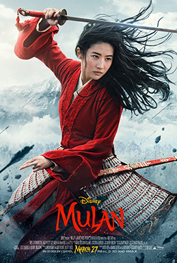 Mulan (2020 film) Release date: March 27, 2020