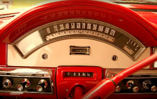 1957 Ford Fairlane Coupe Speedometer