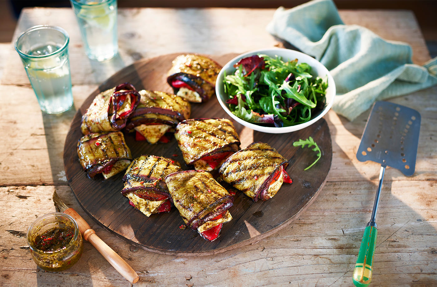 Aubergines / Egg Plants Health Benefits and Recipe Ideas Auberginepepperfetaparcels