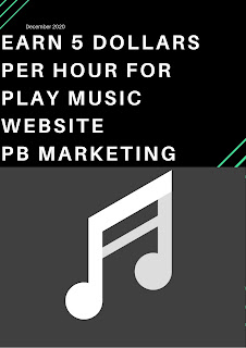 Play music website to Earn $5 per hour