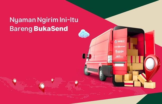 BukaSend agen pengiriman multi kurir dari Bukalapak