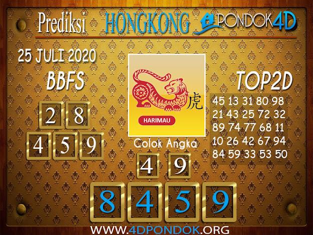 Prediksi Togel HONGKONG PONDOK4D 25 JULI 2020