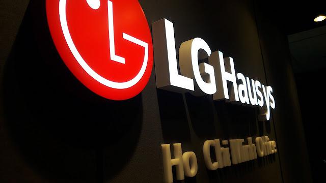 Biển hiệu mica chữ nổi cho LG