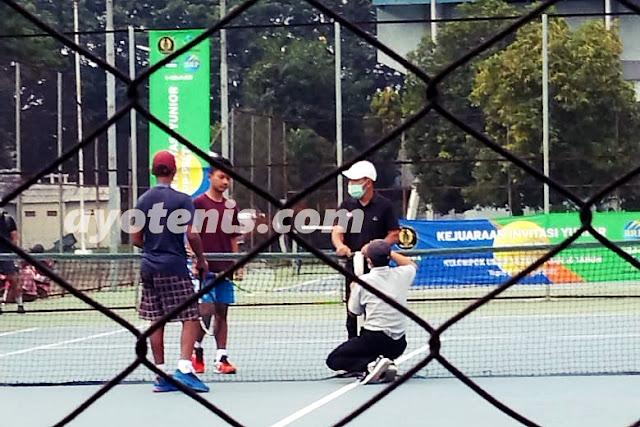 Hasil Semifinal Kejuaraan  Invitasi Tenis Yunior PP PELTI
