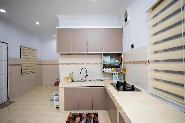 Ruang dapur Guest House/Homestay 7 Bintang
