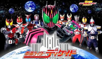 Kamen Rider Decade Episode 01 Now Streaming On Toei Tokusatsu World