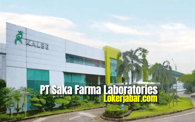 Lowongan Kerja PT Saka Farma Laboratories (Kalbe Consumer Health) 2021