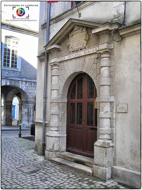 VEZELISE (54) - Hôtel du Bailliage (1561)
