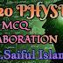 2020 PHYSICS FINAL EXAM MCQ ELABORATION