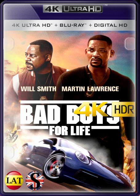 Bad Boys Para Siempre (2020) 4K UHD HDR LATINO/INGLES