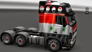 Syria Volvo FH16 skins by stewowe