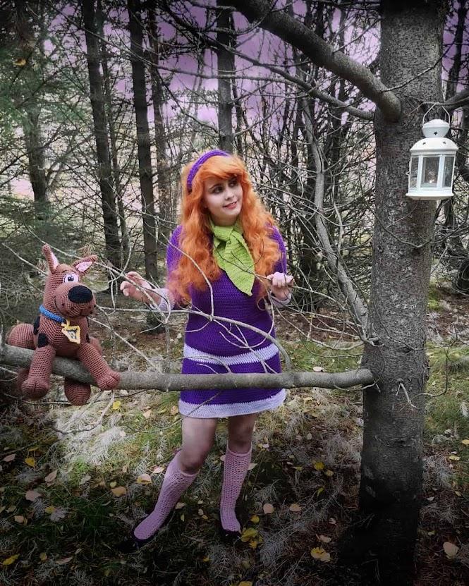 Crochet Cosplay: Scooby Doo's Daphne