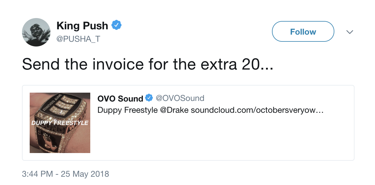 Rhymes With Snitch Celebrity And Entertainment News Drake - Drake invoice