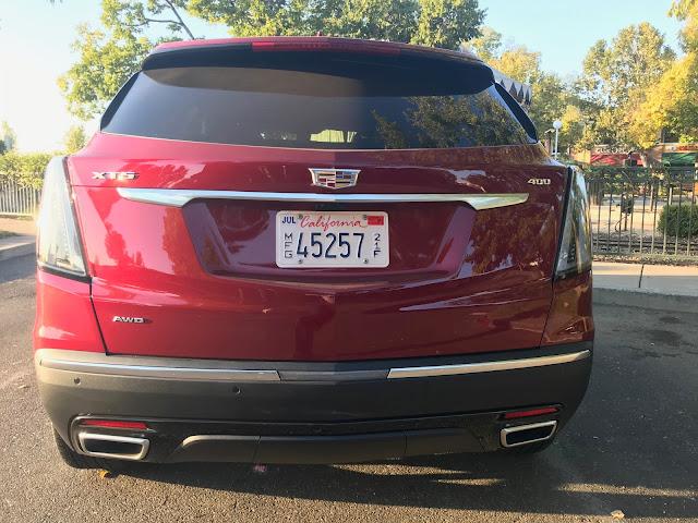 Rear view of 2020 Cadillac XT5 Sport AWD