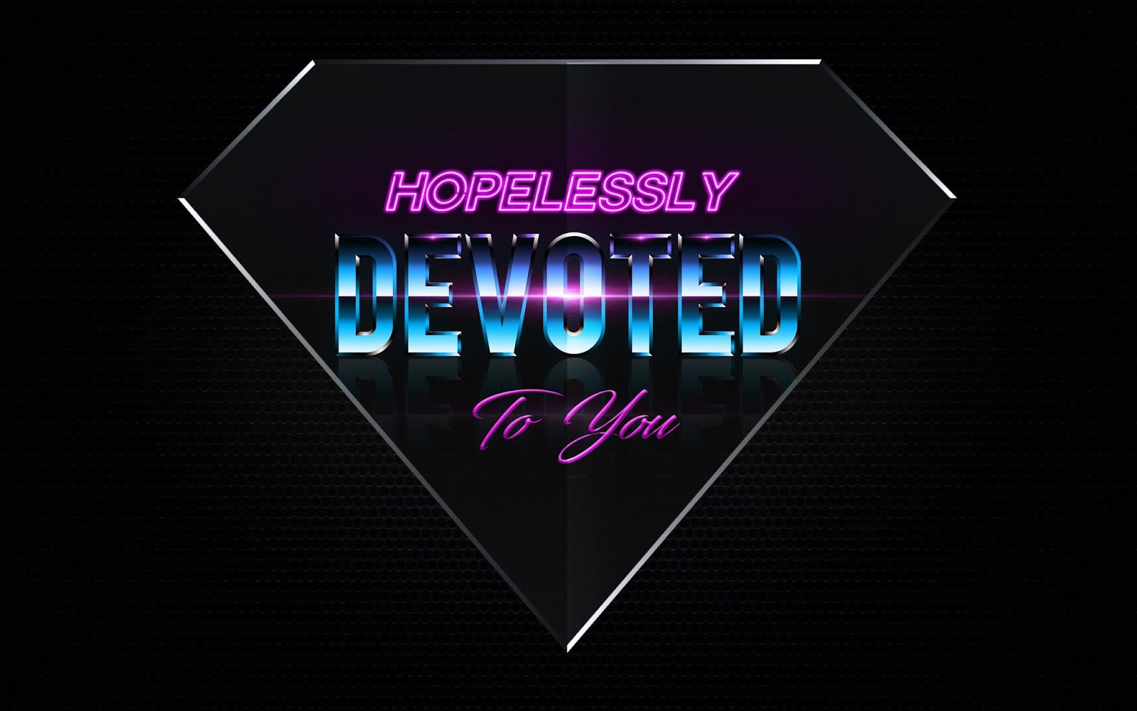 Devoted To You, Hopeless, Neon Art, Synthwave, Retrowave, Love Quotes, Love