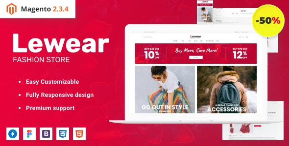 Fashion eCommerce Website Theme