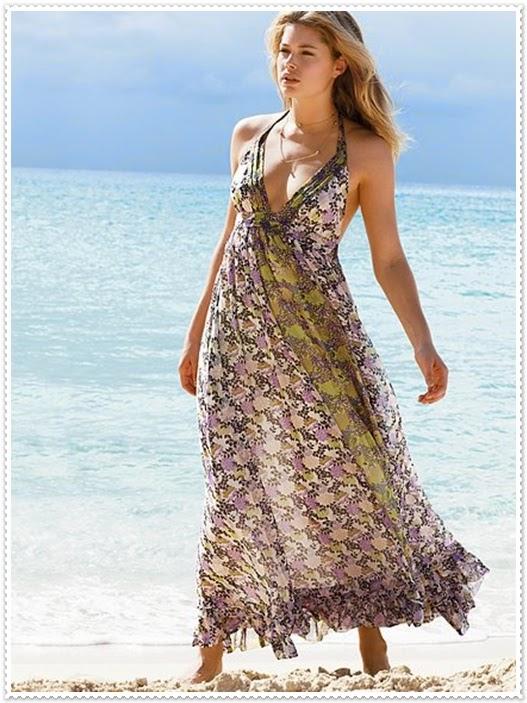 mode germany: für sommertage schöne lange kleider