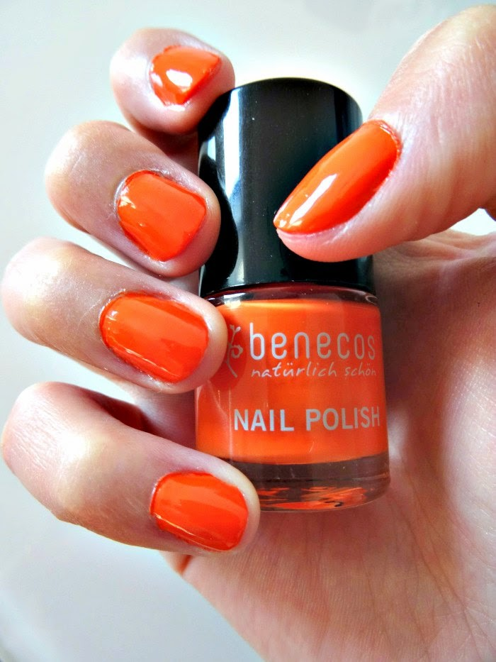 Mighty Orange Benecos Nail Varnish