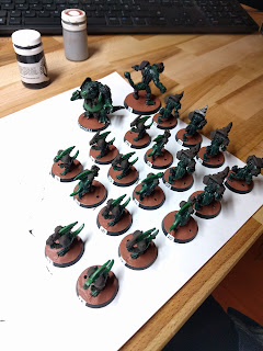 More progress on the bases.