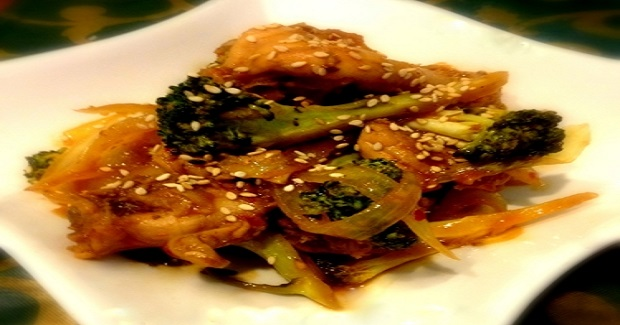 Stir Fry Broccoli Chicken Recipe