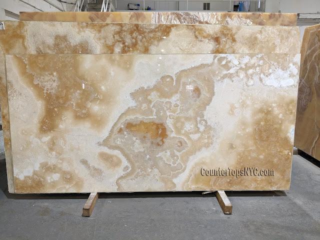 Honey Onyx Marble Slabs NYC