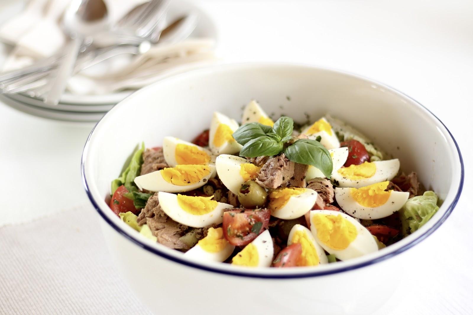 Salat Nizza - Wochenplan für die Osterwoche