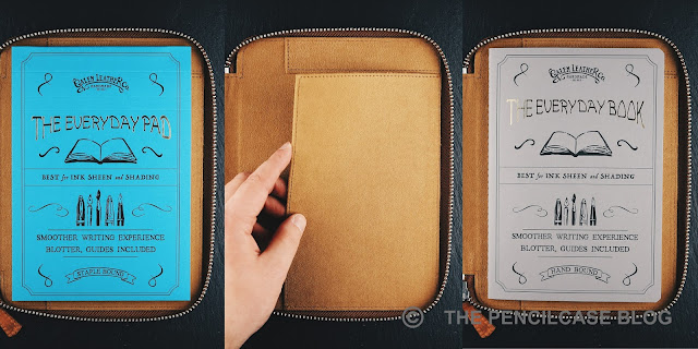 REVIEW:  GALEN LEATHER ZIPPERED 10 SLOTS PEN CASE & A5 NOTEBOOK HOLDER