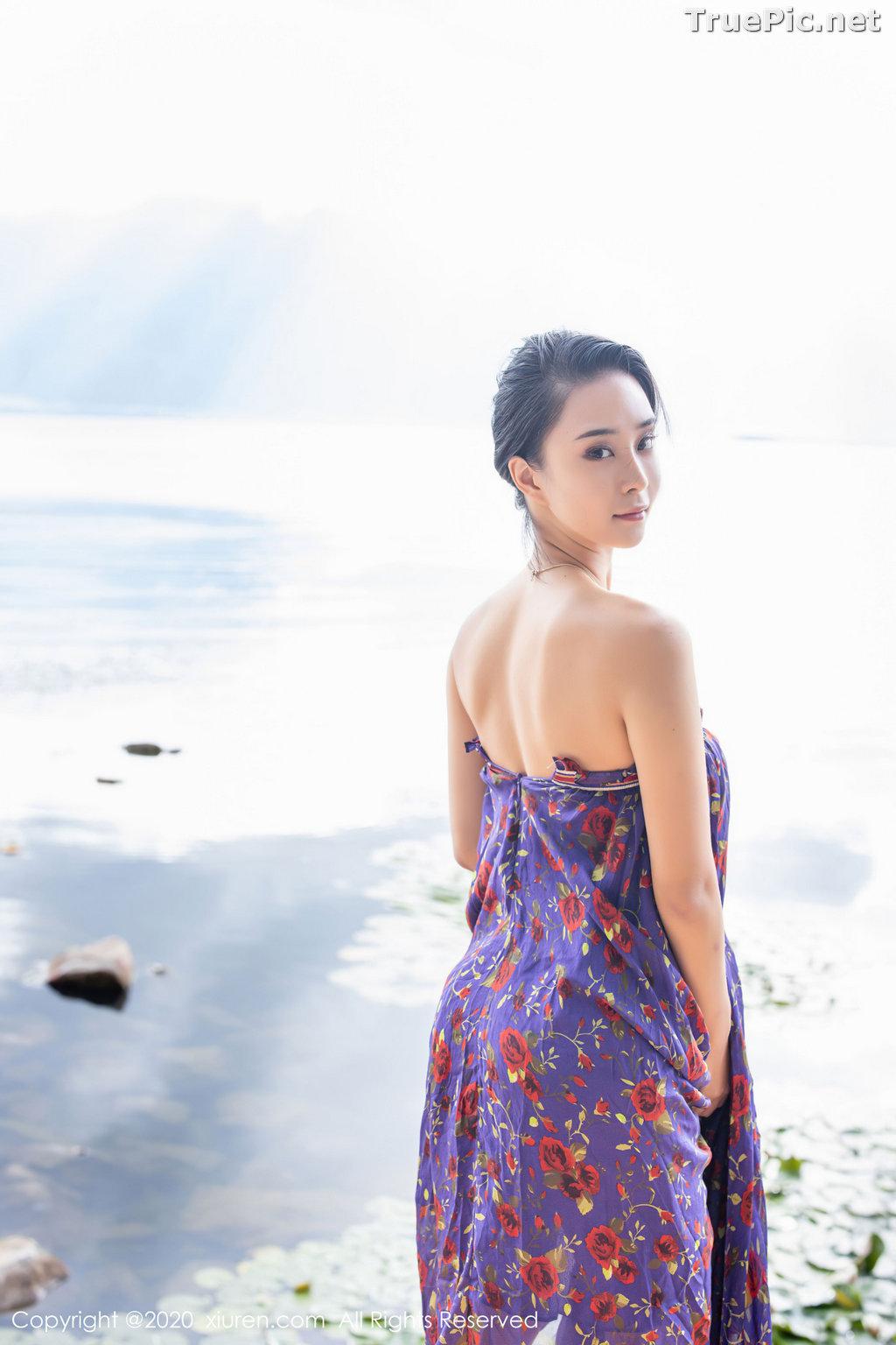 Image XIUREN No.2544 - Chinese Model - 蓝夏Akasha - Purple Queen - TruePic.net - Picture-36