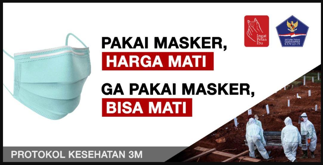 iklan masyarakat pakai masker