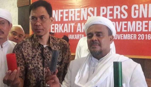 Habib Rizieq: Saya Tidak Hanya Siap Dipenjara, Tapi Mati !