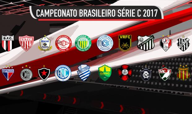 a972eb2a423c9 A série C do Campeonato Brasileiro começa neste fim de semana com 20 clubes  buscando o título e o acesso à segunda divisão. Os times são divididos em  dois ...