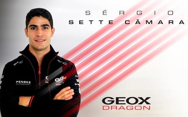 SÉRGIO SETTE CÂMARA NAMED GEOX DRAGON TEST & RESERVE DRIVER to complete F-E rookie tests