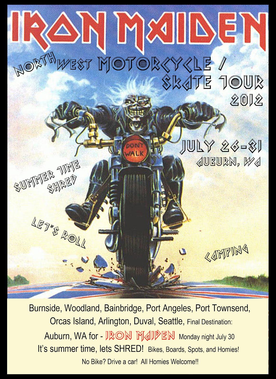 Motorcycle Madhouse Radio Podcast w James