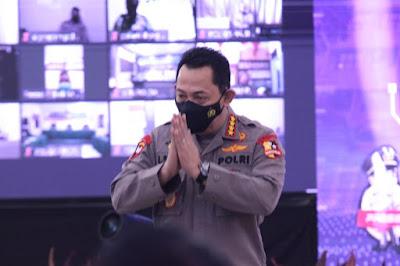 Di Rakernis Propam, Kapolri Minta Polisi Terlibat Narkoba Ditindak Tegas