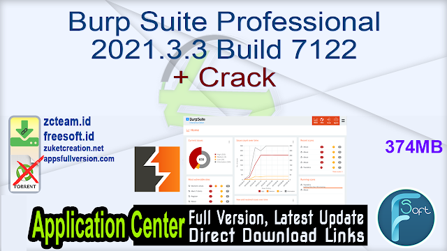 Burp Suite Professional 2021.3.3 Build 7122 + Crack_ ZcTeam.id