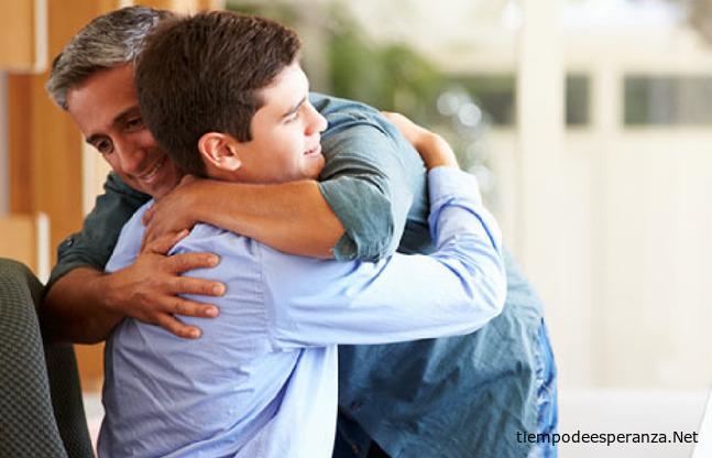 Reconciliación de padre con su hijo